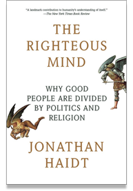 The Righteous Mind book cover