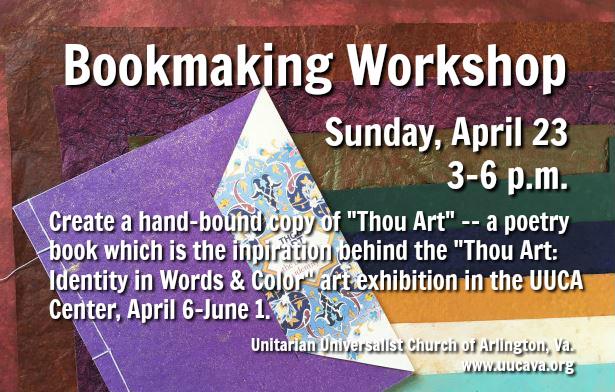 Bookmaking Workshop flyer