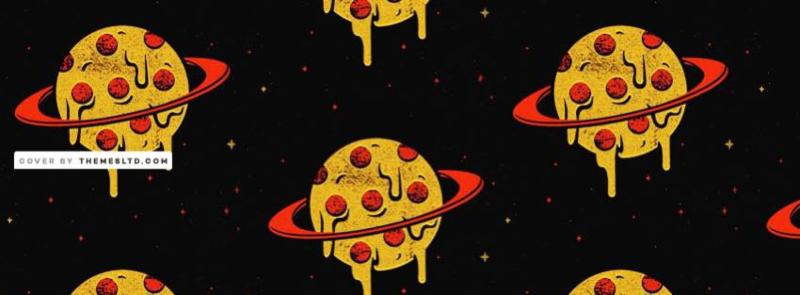 Planet/pizza image
