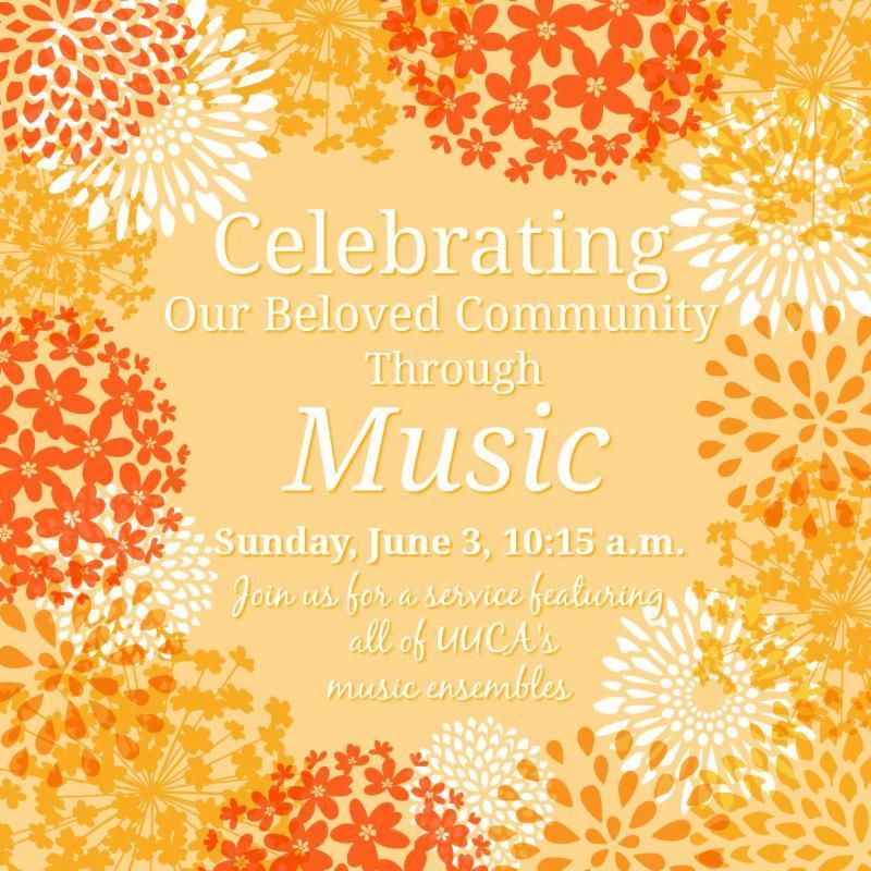 Music Sunday flyer
