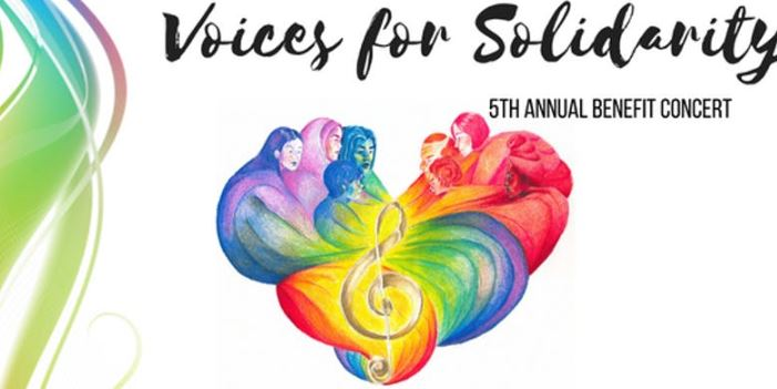Voices of Solidarity 5th Annual Benefit Concert image
