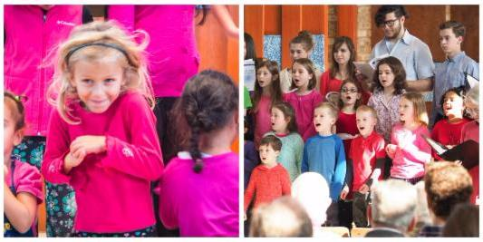 kid choir photo