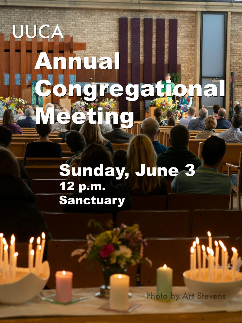Annual Meeting, June 3, noon flyer image