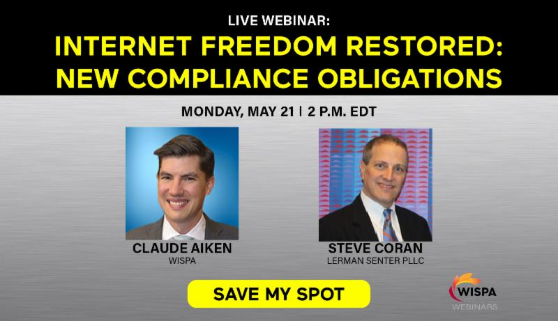 Internet Freedom Restored New Compliance Obligations