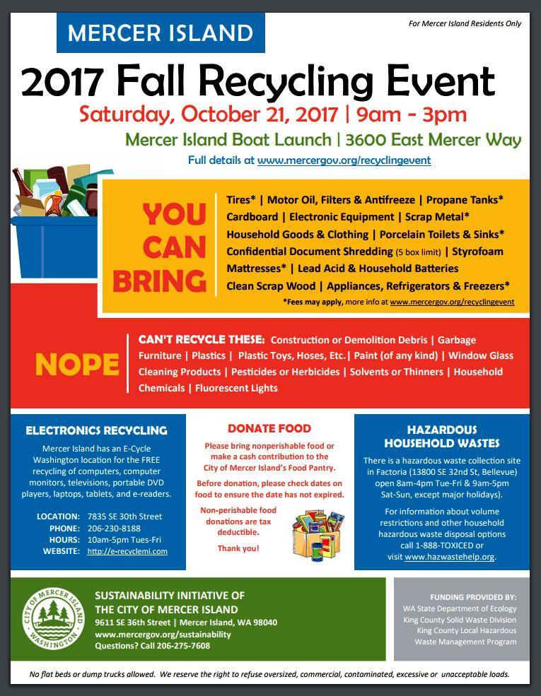 major city recycling initiatives