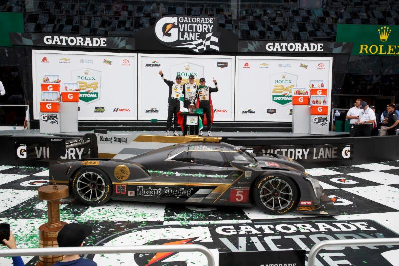 Mustang Samping and Cadillac win Rolex 24 hours in DPI
