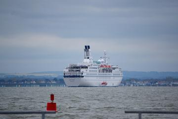 Cruise ship Astor off Cowes