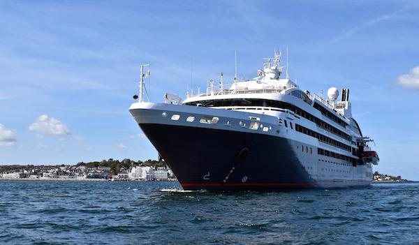Cruise ship L'Austral visits Cowes