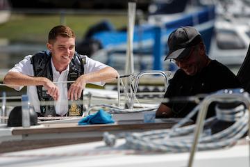 Cowes Harbour Moorings Berthing Master