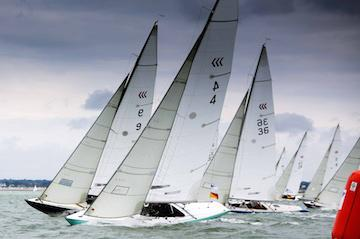 Darings at Cowes Classics Week 2017 - by Jake Sugden
