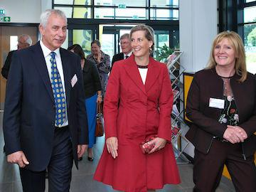 HRH Countess of Wessex at CECAMM