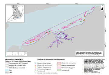 Yarmouth to Cowes features of conservation importance