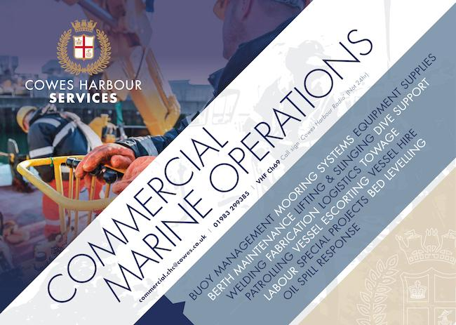 Cowes Harbour Services - Commercial Marine Operations