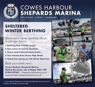 Shepards Marina - Winter berthing