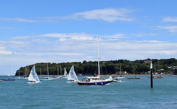 Cowes Harbour view