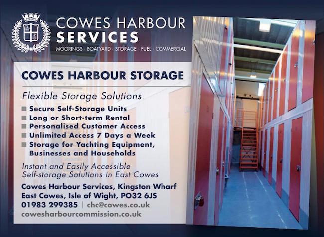 Cowes Harbour Storage