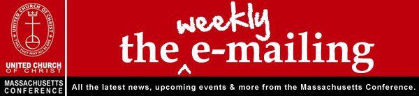 the weekly emailing