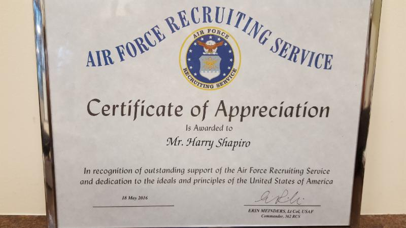 %name Top Result 60 Beautiful Air force Certificate Of Appreciation Template