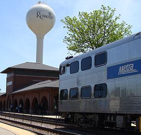 Roselle Train Station