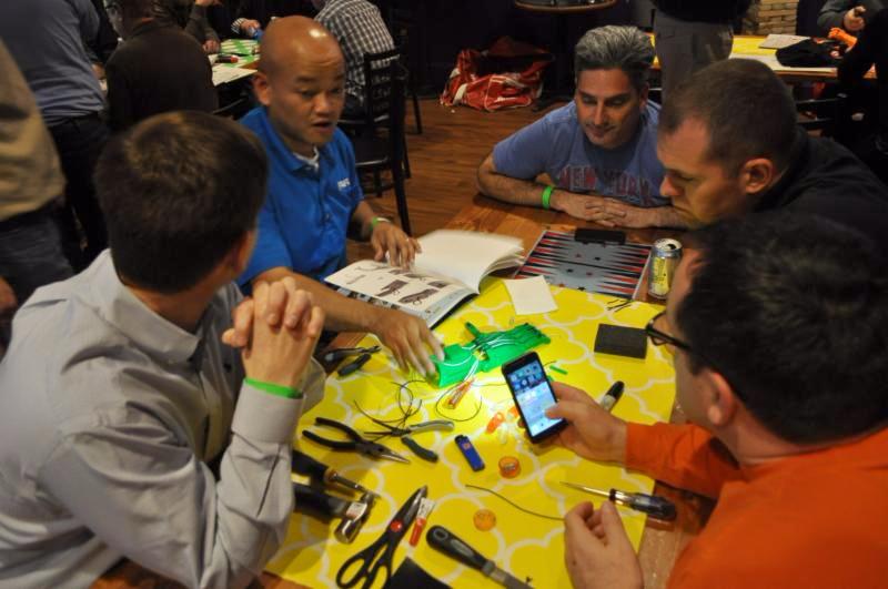 AFL Global execs assemble 3D printed hands for kids in need.VentureUp.com
