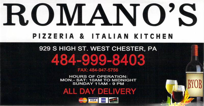 Romano's logo