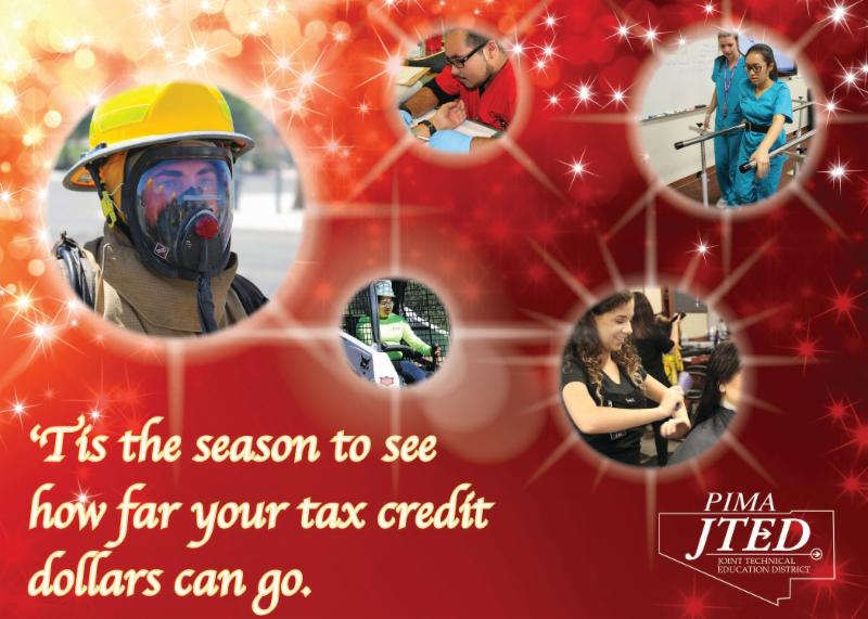Tax Credit Holiday Card