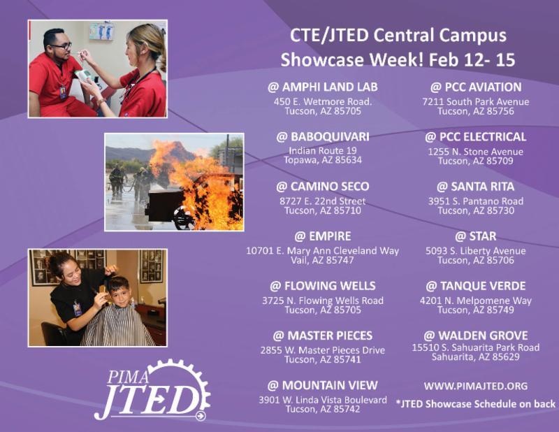 Central Campus Showcase locations
