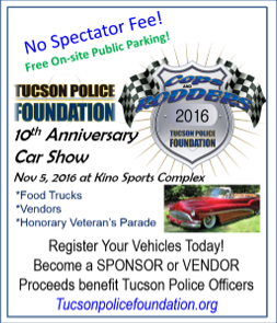 Cops and Rodders Car Show flyer