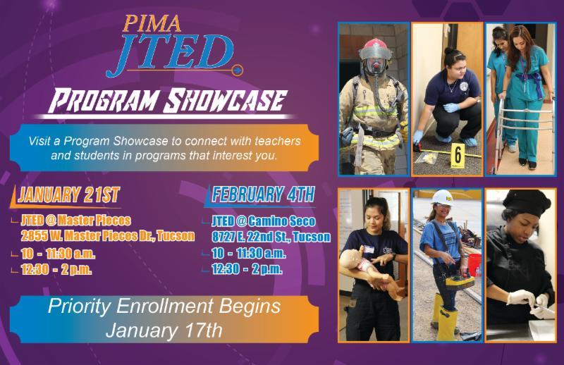 Program Showcase Postcard