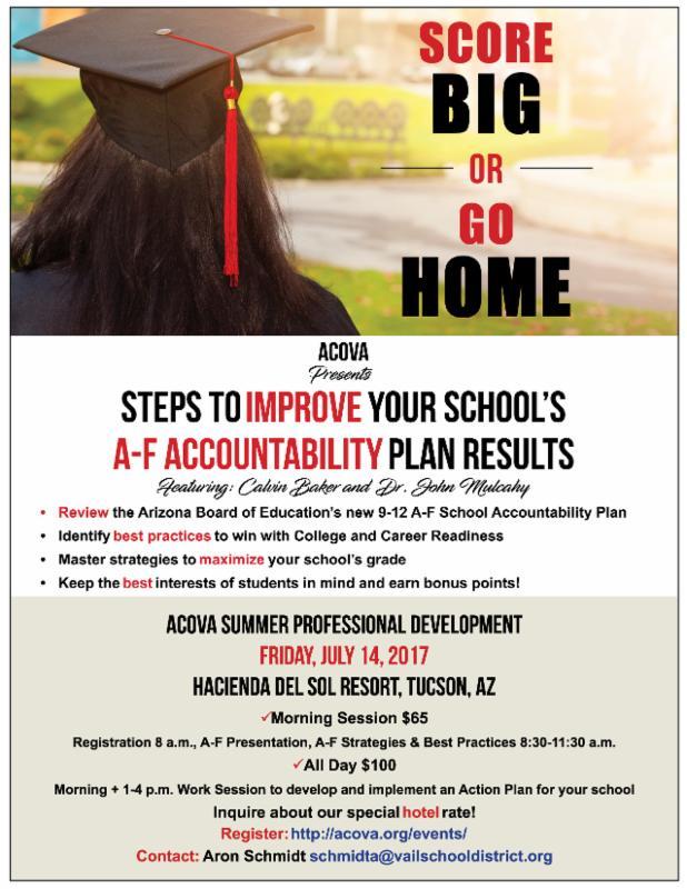 score big or go home a-f accountability flyer