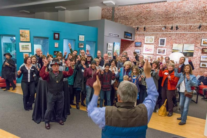 2017 ArtHop Reception at K Jewel Art Gallery