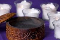 Lenten ashes