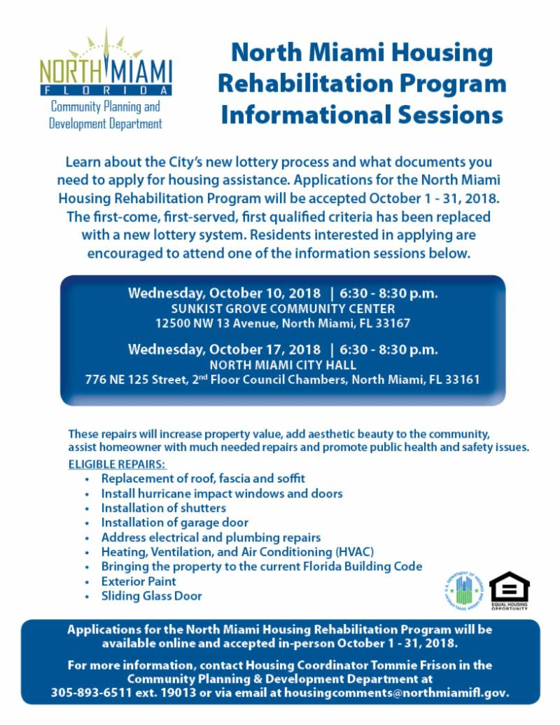 North Miami's Housing Rehabilitation Program