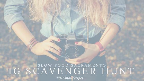 Instagram Scavenger Hunt