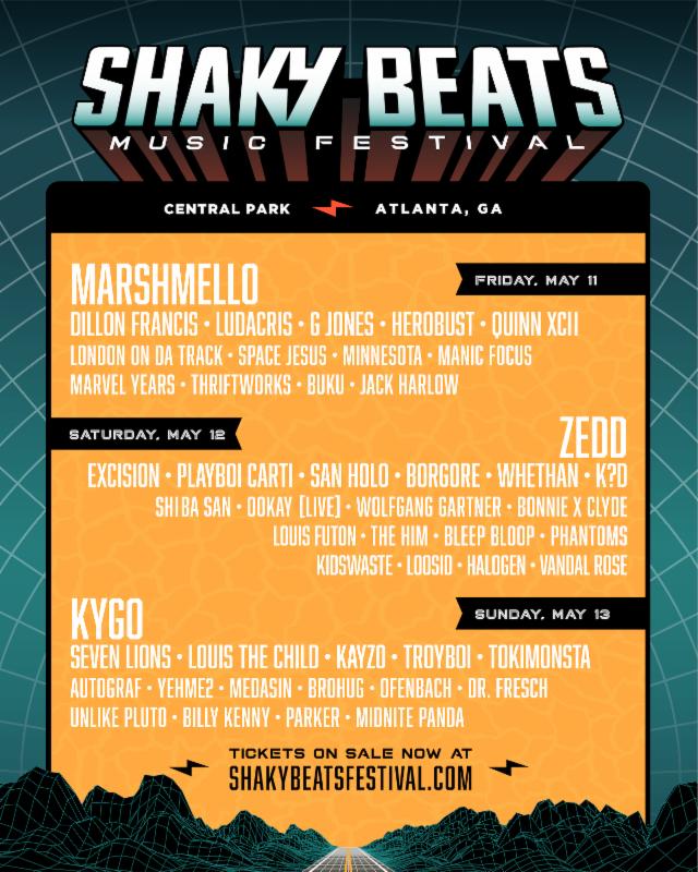 Shaky Beats 2018 | Lineup | Tickets | Dates
