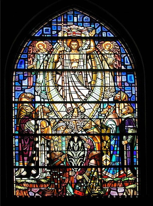 Ascension Stained Glass Window