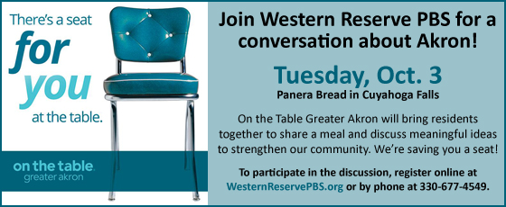 Join Western Reserve PBS for a conversation about Akron