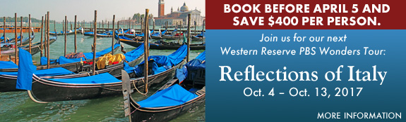 Western Reserve PBS Wonders Tour -- Reflections of Italy