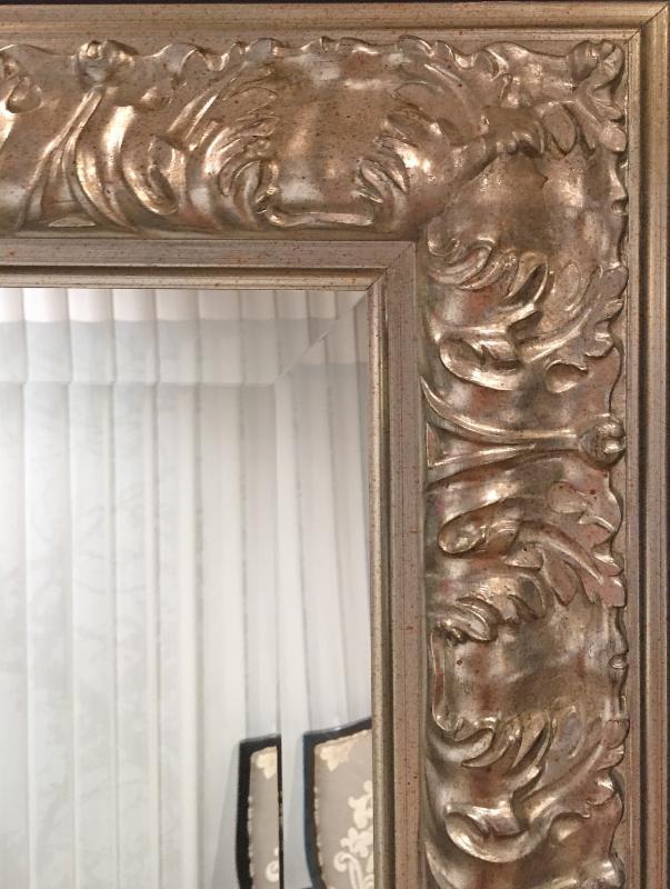 Custom Framed Mirrors at Color Wheel in McLean