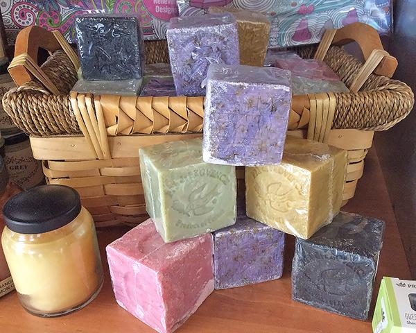 Fancy Soaps at Color Wheel in McLean