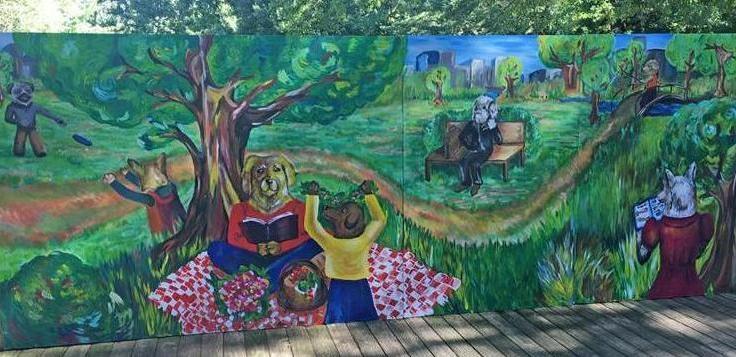 Madison Dog Park Mural