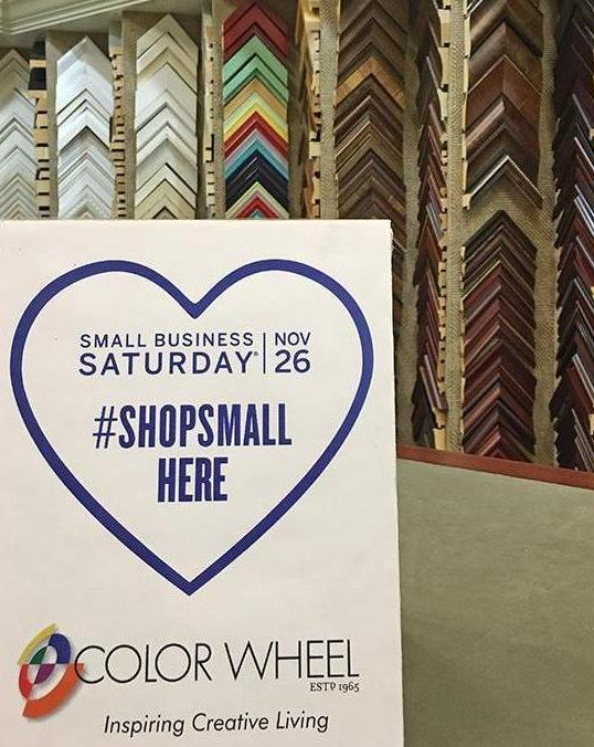 Shop Small at Color Wheel