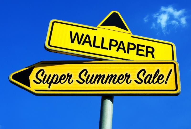 Wallpaper Super Summer Sale