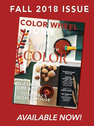 Color Wheel at Home Fall 2018 Issue