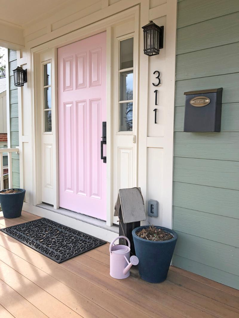 Claudia's Pink Front Door
