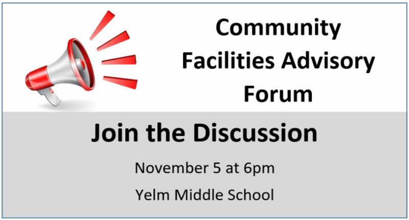 Facilities Advisory Forum Announcement