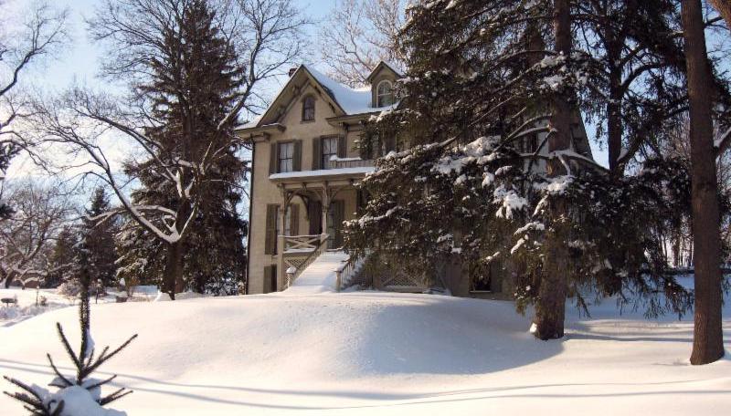 Centre Furnace Mansion Winter
