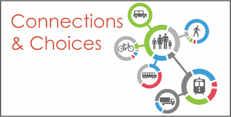 Promote an efficient, interconnected, and accessible transportation network that provides various options for the movement of people.