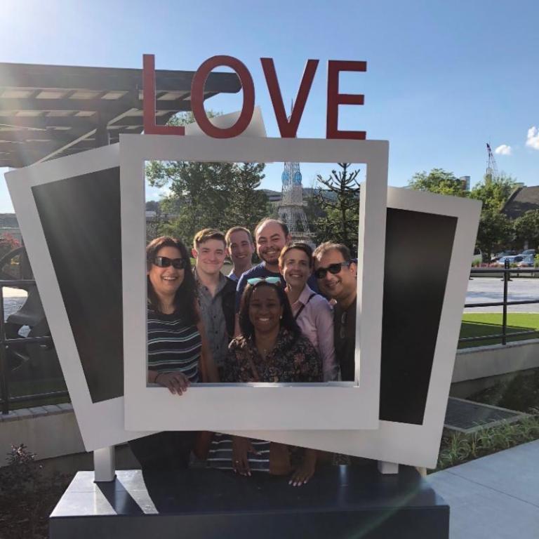 Memphis MPO team framed in 'love'.