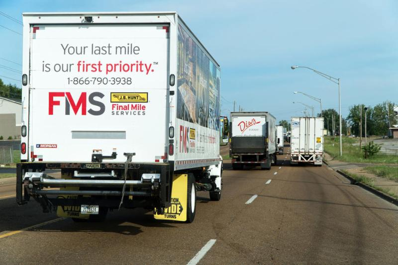 18-wheelers on the road